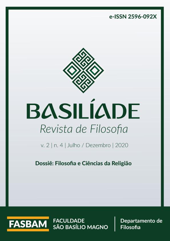Visualizar v. 2 n. 4 (2020): Filosofia e Ciências da Religião