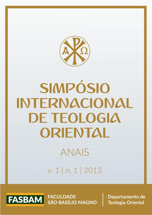 Visualizar v. 1 n. 1 (2013): Anais do I Simpósio Nacional de Teologia Oriental